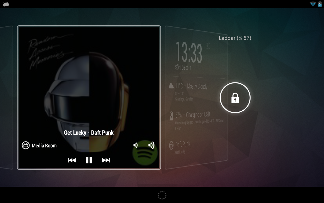 Sonos Widget - screenshot