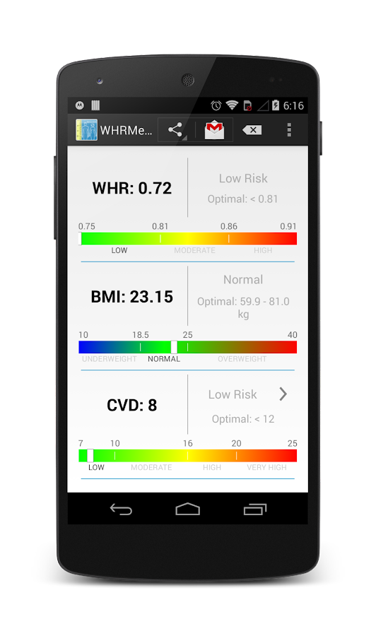 WHRMeter  support version- screenshot