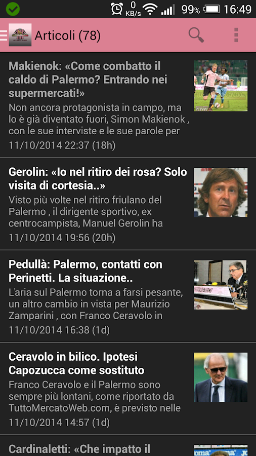 I Love Palermo Calcio- screenshot
