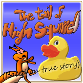 The tail of high squirrel