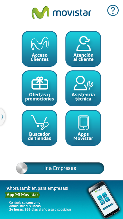 Mi Movistar - screenshot