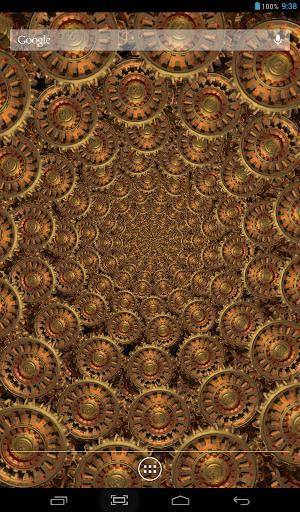 Golden Gears 3 Live Wallpaper