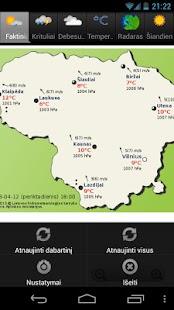 Orai Lietuvoje - screenshot thumbnail