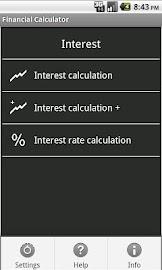 Financial Calculator Screenshot 1