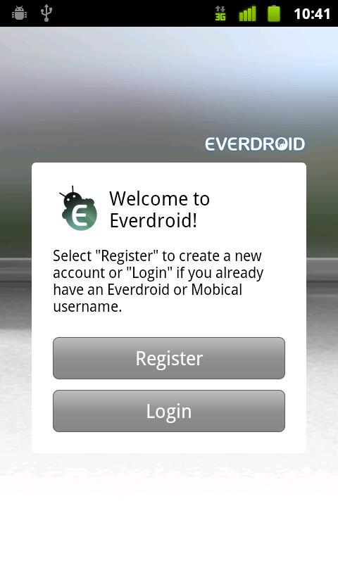 Everdroid - screenshot