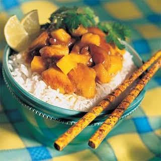 Mango Chutney Chicken.