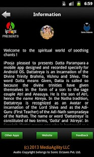 iChant-Datta Parampara - screenshot thumbnail