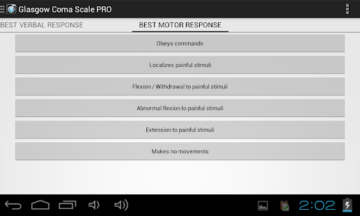 Glasgow Coma Scale- screenshot thumbnail