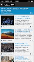 Screenshot of La primerisima 92.7 FM
