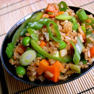 Vegetable (not) Fried Rice.