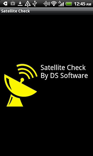 Satellite Check Donation