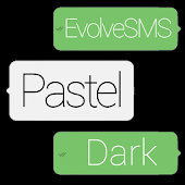 EvolveSMS Theme-BH Pastel Dark