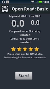 Open Road: Fuel Economy Basic - screenshot thumbnail