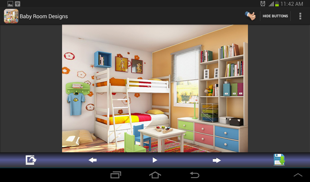 Baby room designs android apps on google play for Design your room app