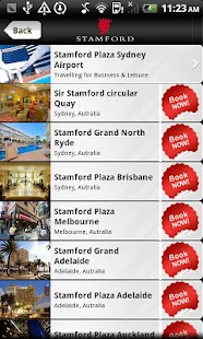 Stamford Hotels & Resorts - screenshot thumbnail