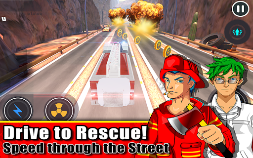 【免費賽車遊戲App】Emergency Truck Race to Rescue-APP點子