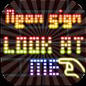 Club NeonSign LookAtMe logo