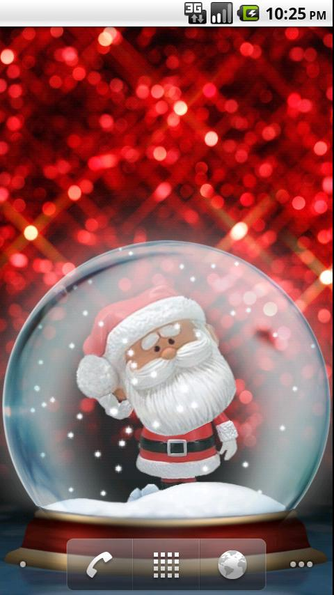 Santa Bobble Live Wallpaper- screenshot