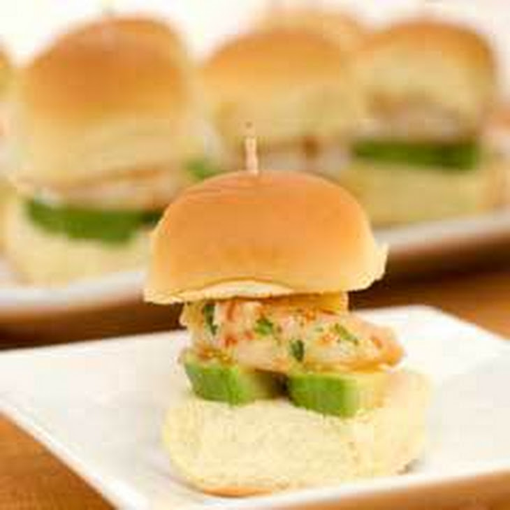 California-style Shrimp Sliders