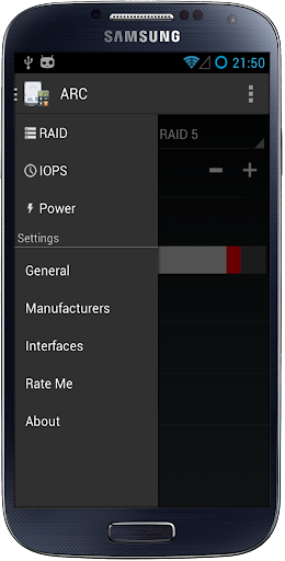 Advanced RAID Calculator