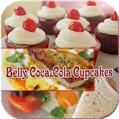 Belly Coca-Cola Cupcakes