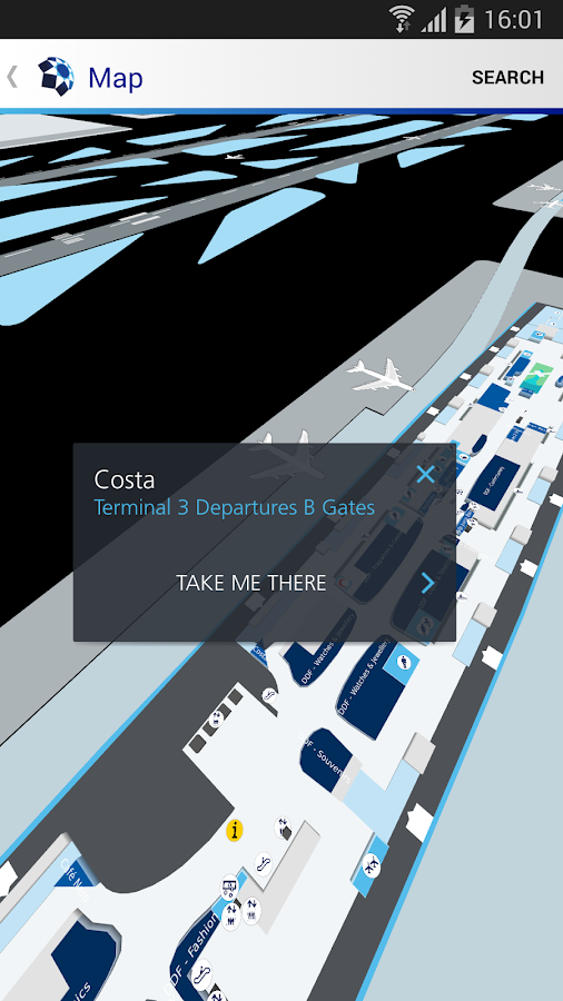 Dubai Airports- screenshot
