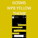 GO SMS WP8 Yellow Theme