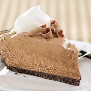 Creamy Chocolate Pie.