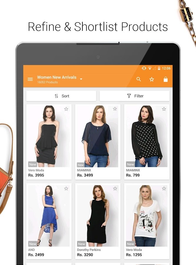 Online clothes shopping apps