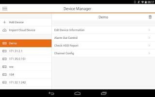 Screenshot of EvoHD