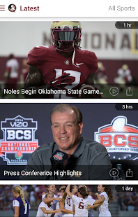 Seminoles.com - screenshot thumbnail