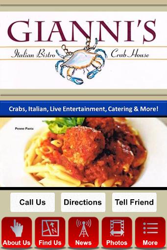 Gianni's Italian Bistro Crab