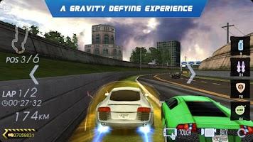 Screenshot of Crazy Racing 3D
