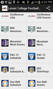 Latest College Football News- screenshot thumbnail