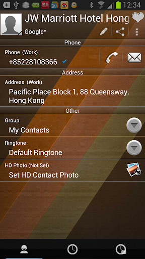 【免費通訊App】RocketDial Brown2rd Theme-APP點子