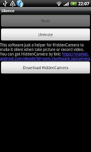 Silent Camera Mute Camera- screenshot thumbnail