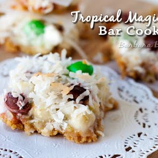 Tropical Magic Bar Cookies