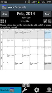 Work Schedule Pro