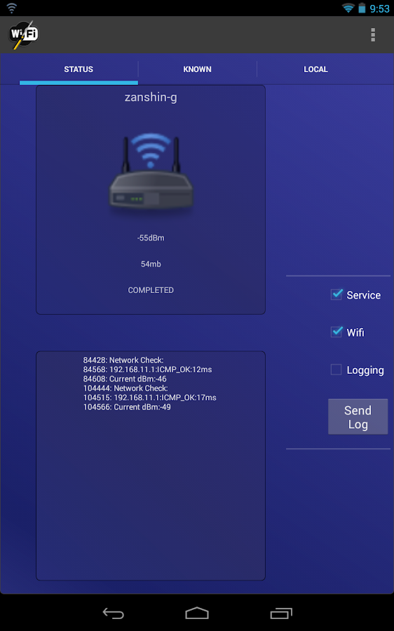 Wifi Fixer - screenshot