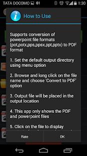 玩免費商業APP|下載Powerpoint to PDF Converter app不用錢|硬是要APP