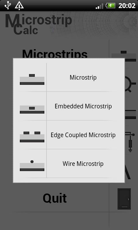 Microstrip Calc Lite- screenshot