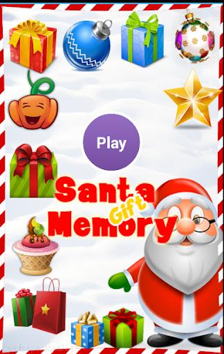Santa Memory Game