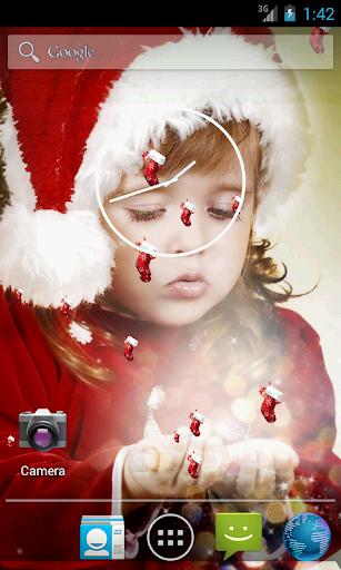 Christmas Baby Live Wallpaper