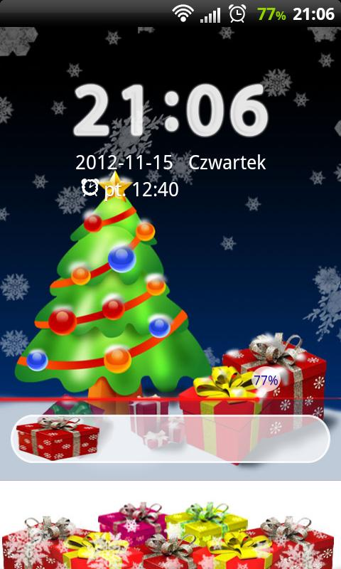 GO Locker Christmas Tree - screenshot