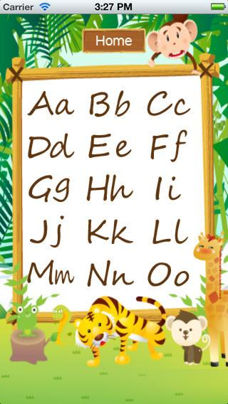 Animal Alphabets ABC Poem Kids - screenshot