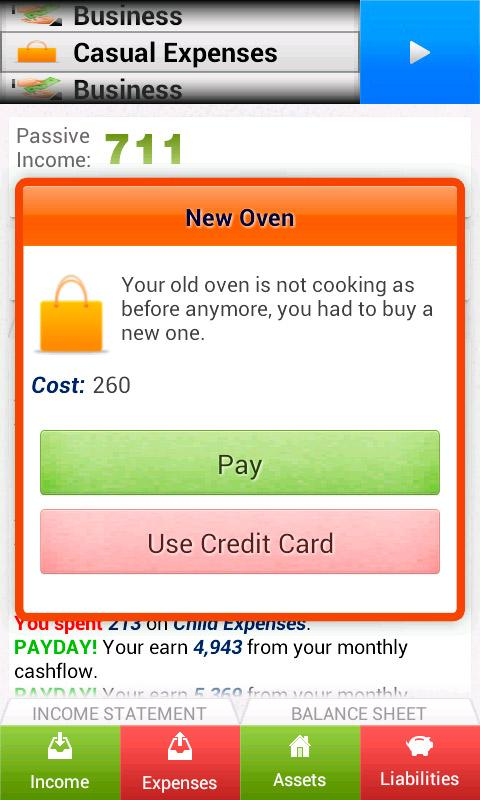 Cashflow Mobile - Finances - screenshot