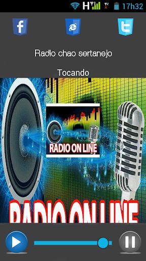 Radio chao sertanejo
