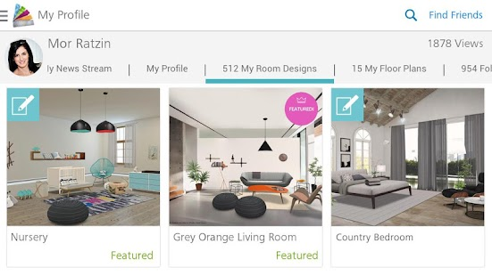 Homestyler Interior Design- screenshot thumbnail
