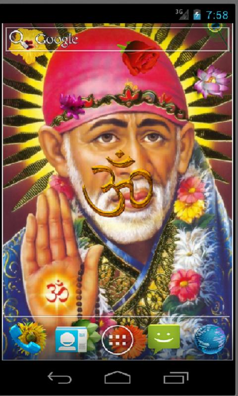 Shirdi Sai Baba HD LWP - screenshot