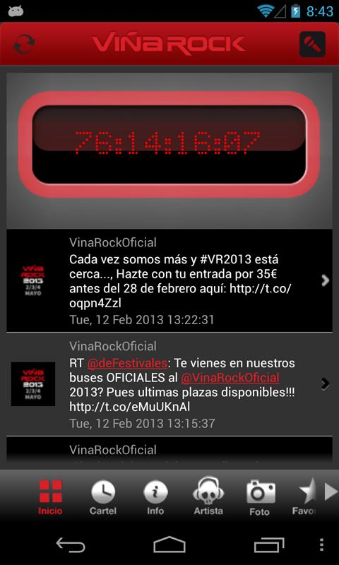 Viña Rock - screenshot
